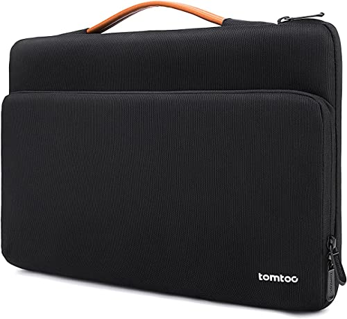 tomtoc 360 Protective Laptop Case for 2020 New Dell XPS 15, 15-inch MacBook Pro USB-C A1990 A1707, Surface Laptop 4/3...