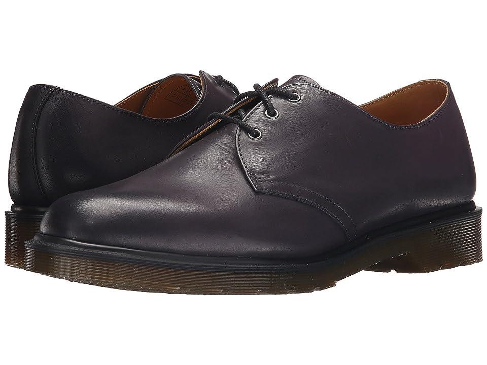 Dr. Martens 1461 3-Eye Shoe (Charcoal Temperley) Men