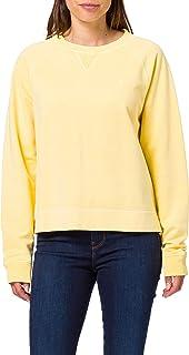 GANT D2. SUNFADED C-NECK SWEAT dames sweater