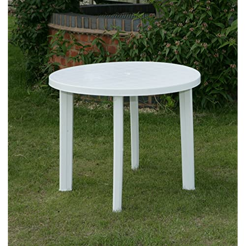 Stupendous Plastic Patio Table Amazon Co Uk Home Interior And Landscaping Elinuenasavecom