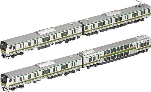 Spur N 10-1267 E233 System 3000 Serie Tokaido-Linie Ueno Tokyo Linie Basis-Set (4 Autos)