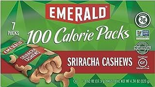 Emerald Nuts, Sriracha Cashews 100 Calorie Packs, 7 Count Box