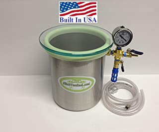 1.5 Gallon SlickWoodVac Stainless Steel Vacuum Chamber