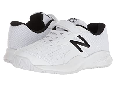 New Balance Kids KC696v3 Tennis (Little Kid/Big Kid) (White/White) Kids Shoes