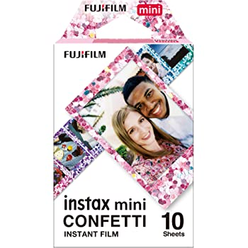 Fujifilm Instax Mini Confetti Film - 10 Exposures
