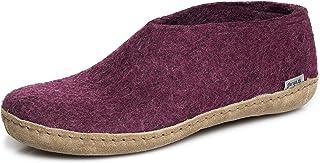 glerups dk A Shoes Unisex Adults Felt Slippers, Pink (Cranberry),4 UK