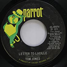 TOM JONES 45 RPM LETTER TO LUCILLE / THANK YOU LORD