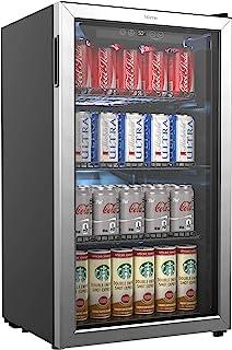 HOmeLabs Refrigerador y enfriador de bebidas, refrigerador p