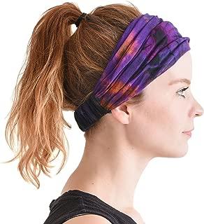 CHARM Casualbox   Tie-Dye Headband Bandana Boho Hippie Retro Flower psychedelic 60's