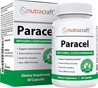 Sponsored Ad - Paracel Intestinal Guard | Intestinal Cleanse for Humans | Wormwood, Black Walnut, Clove, PAU D'Arco, Echin...