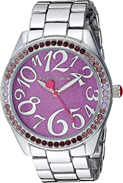 BJ00048-290 - Purple Glitter Dial Watch