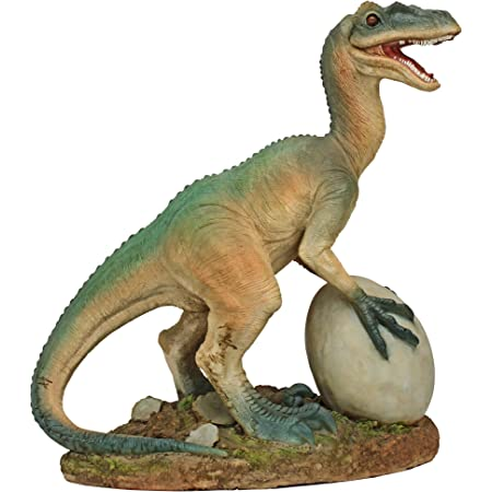 Amazon Com Design Toscano Jq6627 Scaled Jurassic Pterodactyl Dinosaur Statue Full Color Garden Outdoor