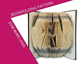 Bookfolding pattern Star Wars - Give an old book a new life in 3 easy steps