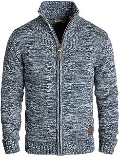 91c70d049 Solid Pomeroy Cárdigan Chaqueta De Punto Grueso Para Hombre Con Cuello Alto  De 100% algodón
