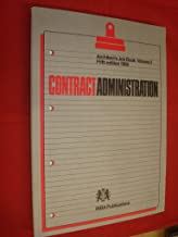 Architect's Job Book: Contract Administration (v. 2)
