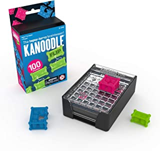 Educational Insights Kanoodle Flip 3-D Puzzle Game for Kids, Teens & Adults, Brain Teaser, Logic Game Featuring 100 Challe...