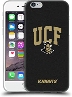 Official University of Central Florida UCF Campus Logotype Soft Gel Case Compatible for iPhone 6 / iPhone 6s