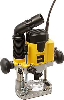 DEWALT DWE6000 4.5-Amp Single Speed 1//4-Inch Laminate Trimmer with DWE6014 Laminate Trimmer D-Shaped Sub Base
