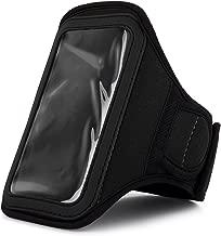 Athlete's Choice Black Neoprene Workout Armband for Motorola DROID RAZR MAXX HD / Motorola RAZR HD / Motorola DROID RAZR HD / Motorola DROID RAZR M / Motorola ELECTRIFY 2 / Motorola PHOTON Q 4G LTE / Motorola ATRIX HD / Motorola XT928 / Motorola DROID 4 Smartphones