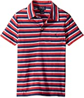 Polo Ralph Lauren Kids - Yarn-Dyed Slub Jersey Cut Top (Toddler)