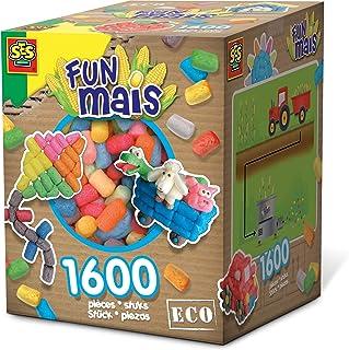 Ses France - 24964 - Kit De Loisirs Créatifs - Fun Maïs - 1600 Pièces