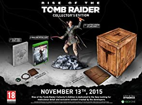 Rise of The Tomb Raider Collectors Edition Xbox One FR Import Region Free in English