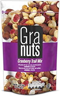 Granuts Cranberry Trail Mix Family Pack | Caramelized Peanuts | Crunchy Corn Nuts + Almonds | Soft Cranberries | Salty + S...