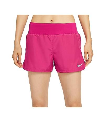 Nike Crew Shorts (Fireberry/Reflective Silver) Women