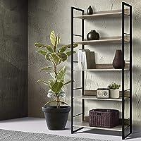 Artiss Bookshelves 5-Tier Display Shelves Industrial