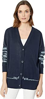 Women's Medallion Cardigan Sweater