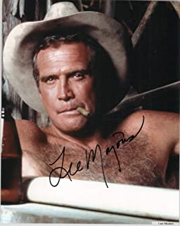 Lee Majors Signed Autographed `The Fall Guy` Glossy 8x10 Photo - COA Matching Holograms