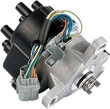 MAS Compatible Ignition Distributor w/Cap & Rotor TD-80U TD80U TD-98U for 96-98 Honda Civic 1.6L SOHC Civic del Sol TEC D16Y7 D16Y 30100-P2E-A01 30100P2EA01