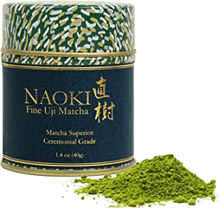 Naoki Matcha (Superior Ceremonial Blend, 40g / 1.4oz ) - Authentic Japanese Matcha Green Tea Powder Ceremonial Grade from ...
