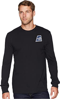 Long Sleeve Graphic Patch Tee
