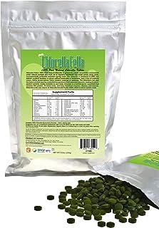 Chlorella Tablets: 100% Pure Natural Taiwan Premier Quality Chlorella Tablets (1000 250mg Tabs Per Pack /8.8oz)