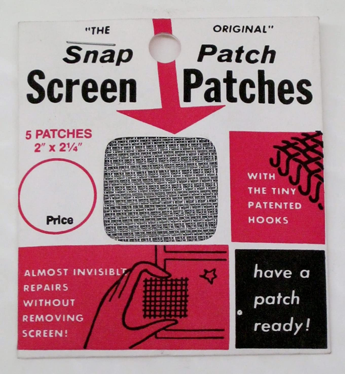 The Original Snap Patch Screen Patches