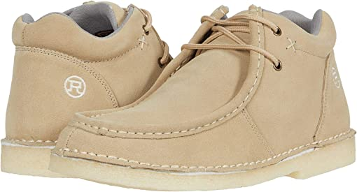 Tan Suede Leather
