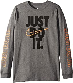 NSW Just Do It Long Sleeve Tee (Little Kids/Big Kids)
