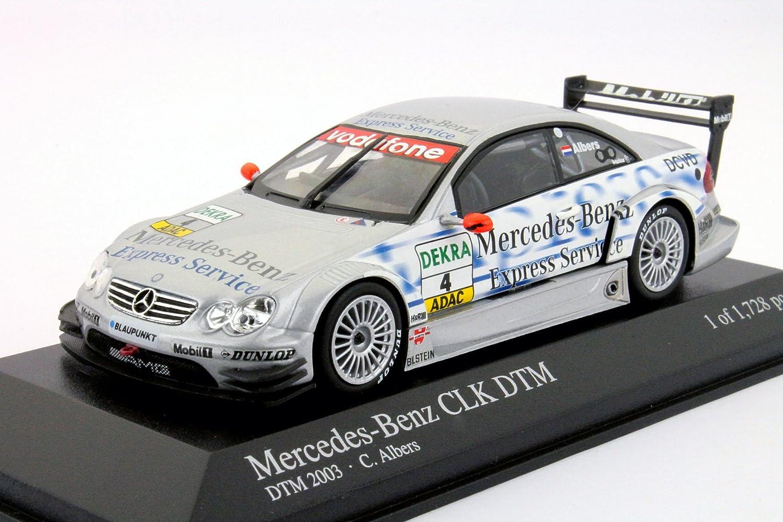 Minichamps 1 43 Scale diecast 400 033304 Mercedes CLK Coupe DTM 03 Albers