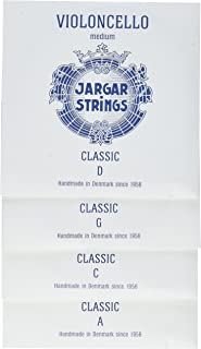 Jargar Cello SET CLASSIC Coated Steel Strings, Medium