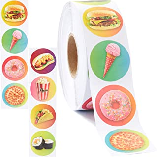 stickers fast food