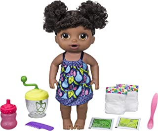 Baby Alive Sweet Spoonfuls Baby Doll Girl (Black Hair)