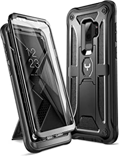 Galaxy S9+ Plus Case, YOUMAKER Kickstand Case with Built-in Screen Protector Shockproof..