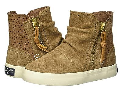 Sperry Kids Crest Zone (Toddler/Little Kid/Big Kid) (Chestnut Leather) Girls Shoes