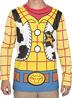 Toy Story I am Woody Adult Long Sleeve Costume T-Shirt