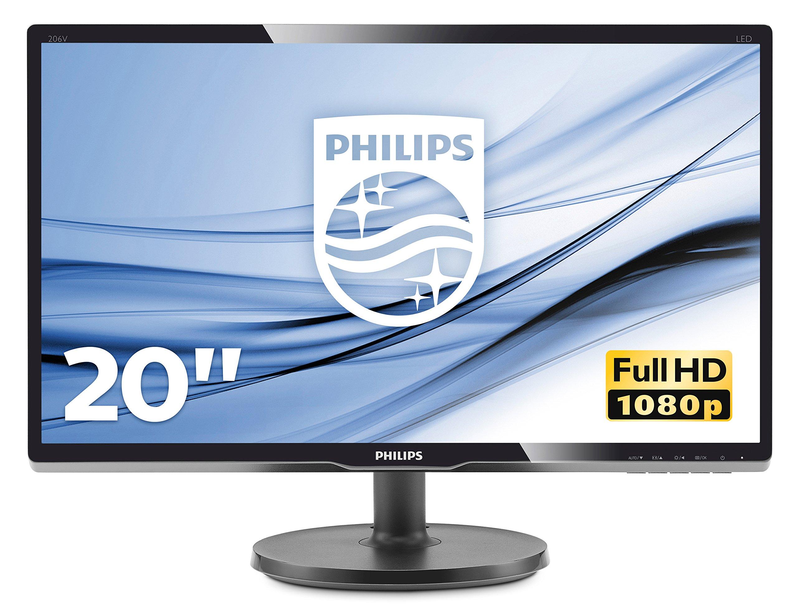 Philips Monitores 200V4QSBR/00 - Monitor de 19.53