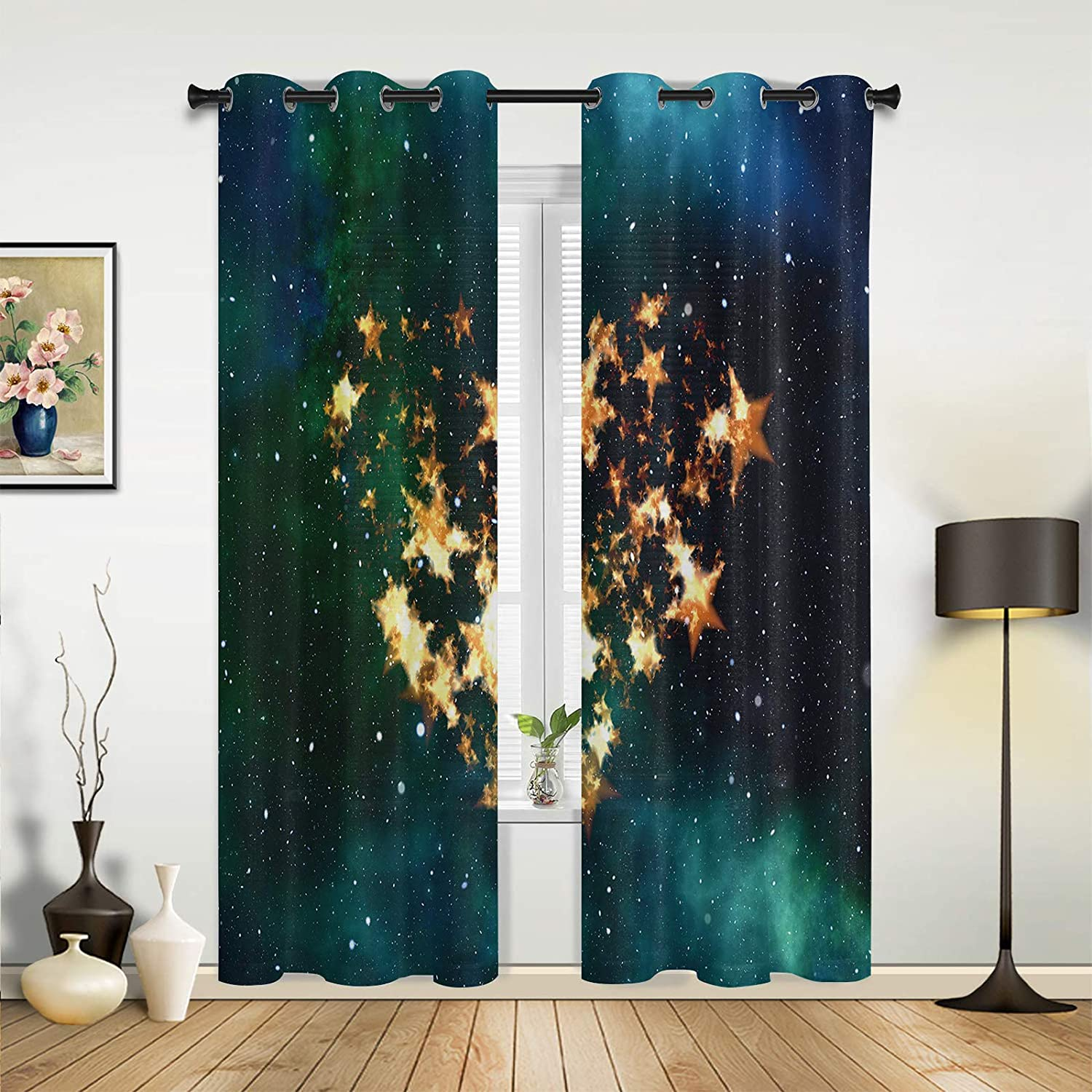 Window Sheer Curtains for Bedroom Living Ranking TOP8 Valentine's Happy Miami Mall Room