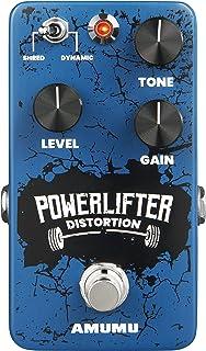 AMUMU POWER LIFTER Distortion Guitar Effects Pedal Handmade