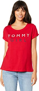 TOMMY HILFIGER Women's Tommy Girl Logo T-Shirt