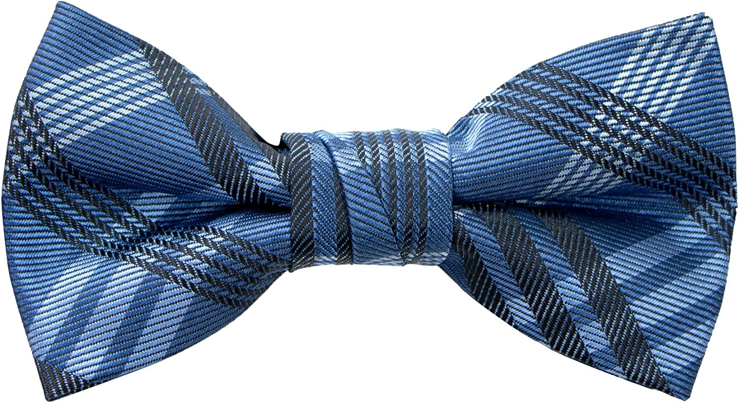 Spring Notion Boy's Plaid Woven Bow Tie